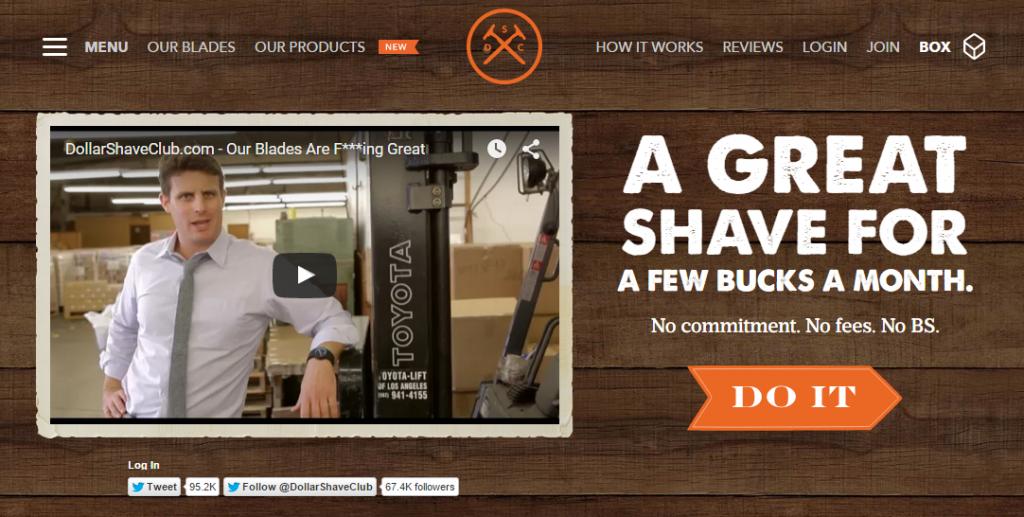 Dollar shave club photo